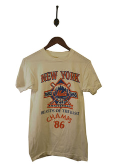 1986 New York Mets T-Shirt - XS