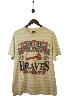 1992 Atlanta Braves T-Shirt - L / XL