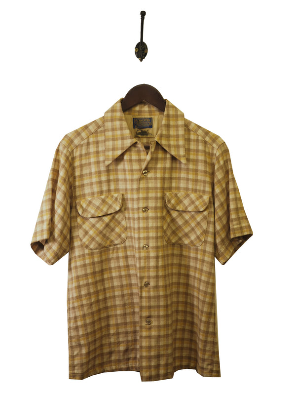 1970s Pendleton Loop Collar Shirt - M