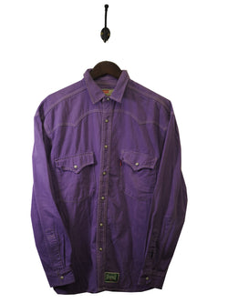 1990s Levi's Made in USA Denim Shirt - M / L