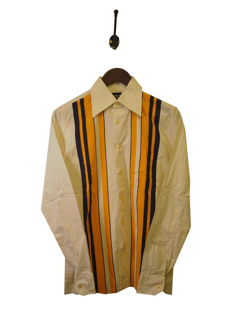 1970s Striped Shirt - S