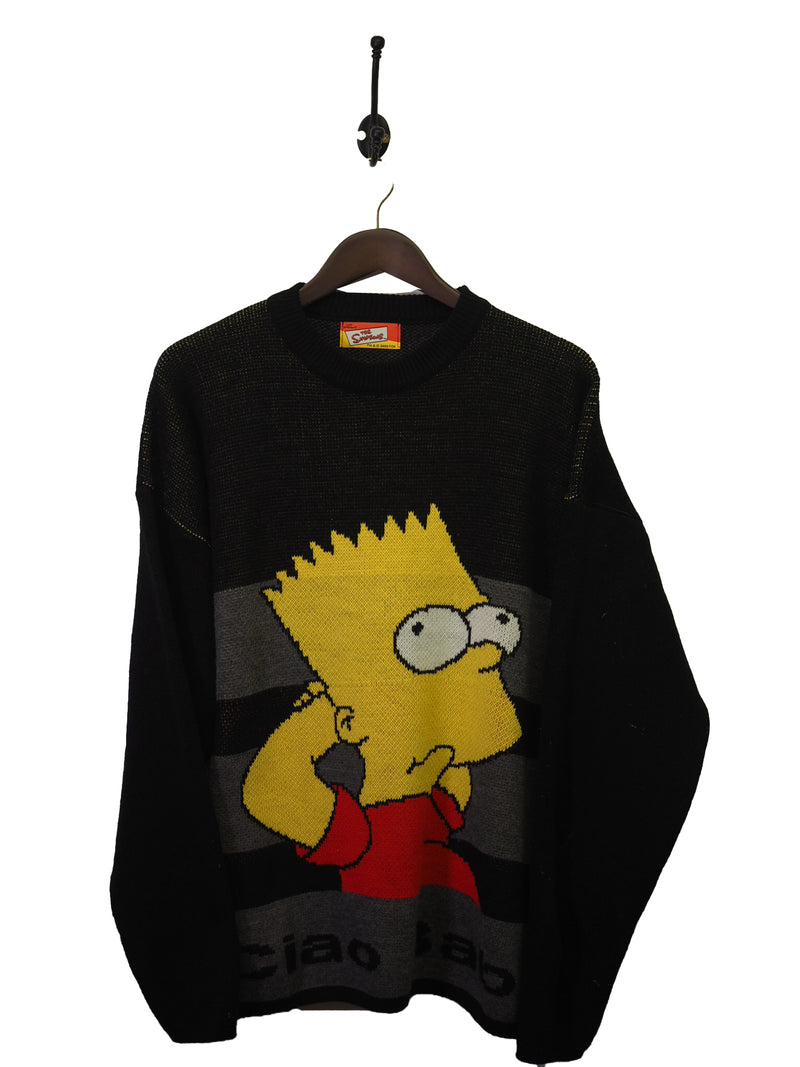 2002 Bart Simpson Knit - L