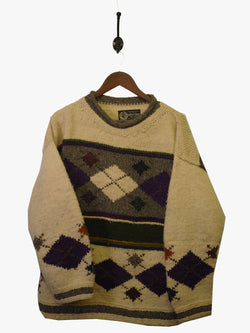 1980s Chunky Native American Knit - M / L