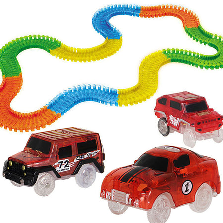 Magic Tracks RC Car Racing Set (165pcs/220pcs)