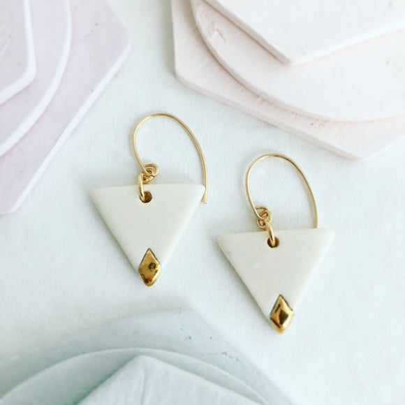 Earrings- White Gold