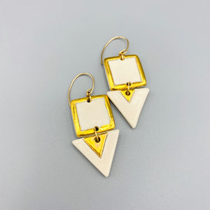 Ivory Duo Earrings 001