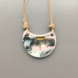 Treat Marbled Necklace 001