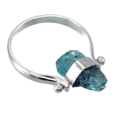 APATITE SWIVEL RING - SILVER