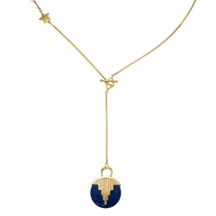 AURORA PENDULUM NECKLACE - GOLD