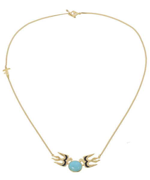 FLY WITH ME NECKLACE - Gold