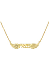 FREE NECKLACE - GOLD