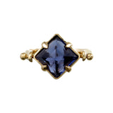 IOLYTE PYRAMID SWIVEL RING - GOLD