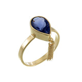 IOLYTE TASSEL RING - GOLD