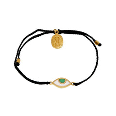 KIDS EYE PROTECTION BRACELET - BLACK - GOLD