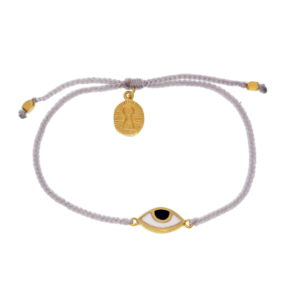 KIDS EYE PROTECTION BRACELET - GREY - GOLD