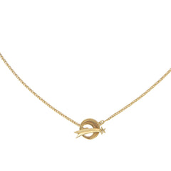 OVER THE MOON -CHOKER NECKLACE - GOLD