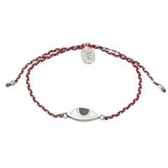 EYE PROTECTION BRACELET - TRIDATU - SILVER
