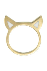 TIGERS EARS RING - GOLD