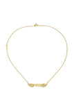 FREE NECKLACE - GOLD plate on sterling silver by tiger frame jewellery