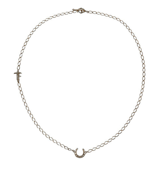 LUCKY - SHORT NECKLACE - SILVER