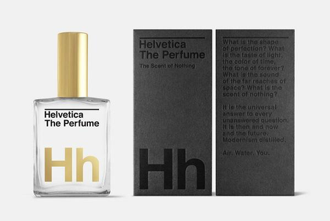 Helvetica: The Smell of Nothing