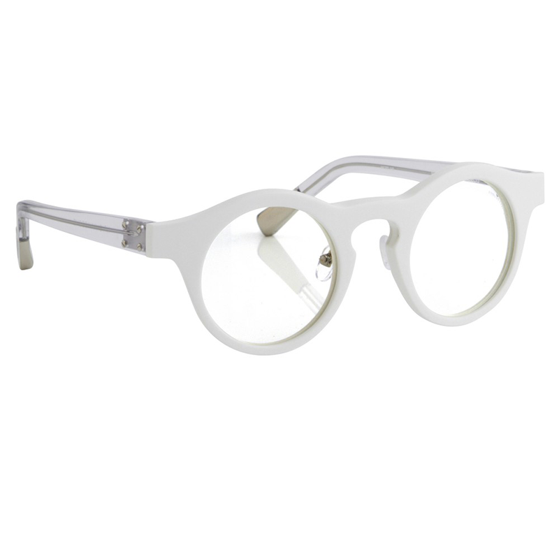 LF2005 Linda Farrow Kris Van Assche 13 C11 Optical Frame White_1_800x800