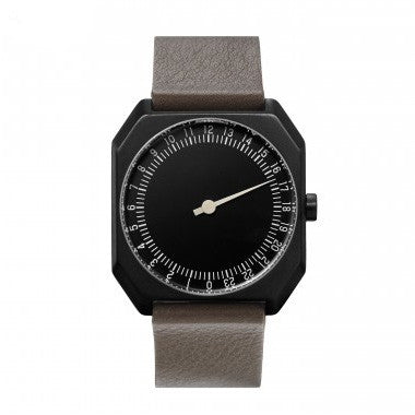 Slow Jo 11: Taupe Leather / Black Dial