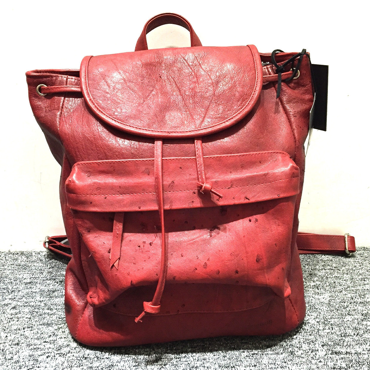 Henson Schoolyard Backpack- Red Kangaroo