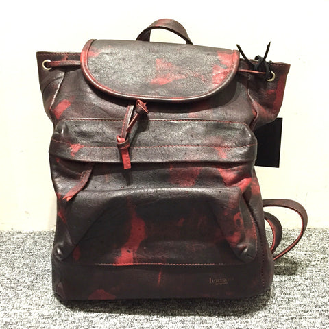 Henson Schoolyard Backpack- Black/ Red Kangaroo