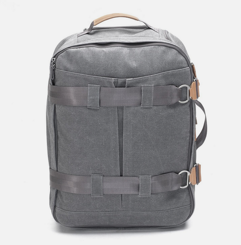 Qwstion Backpack: Washed Grey