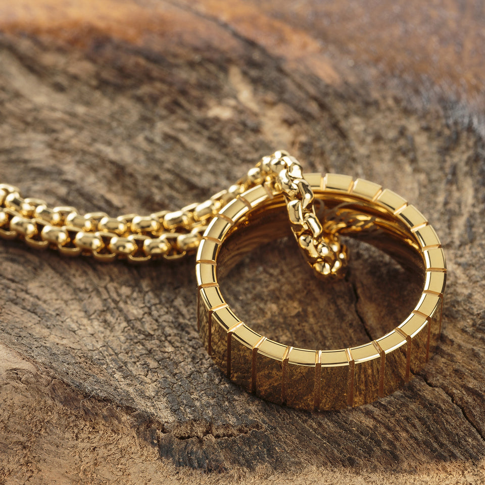 Vitaly Volfram Necklace - Gold