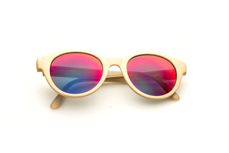 Spektre Vitesse Sunglasses: Skin/Red Mirror (VIT-C/5)