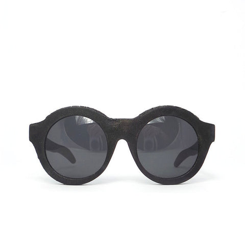 Kuboraum K6 Sunglasses - K0.02 Ltd. Silver Burnt Inside Mask