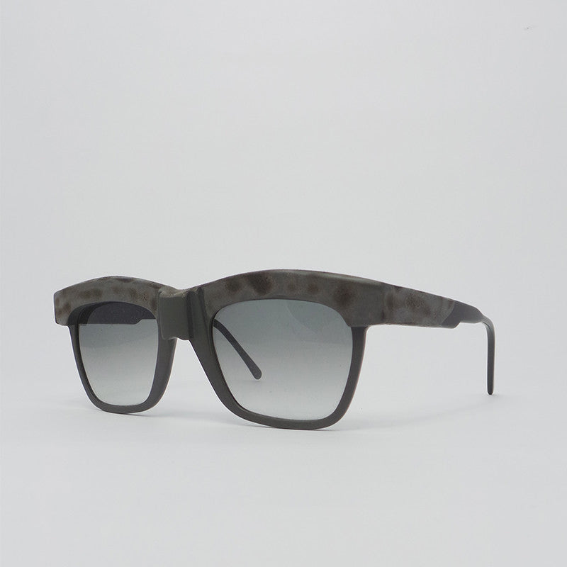 Kuboraum K6 Sunglasses  - K0.02 Gray Burnt Mask with Light Gray Lens