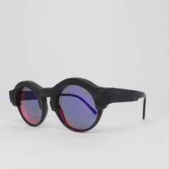 Kuboraum K9 Sunglasses - K0.02 Black Burnt Mask with InfraRed Lens