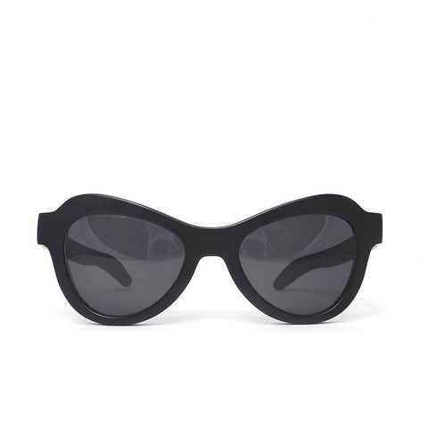 Kuboraum K8 Sunglasses with InfraRed Lens: K0.02 Black Burnt