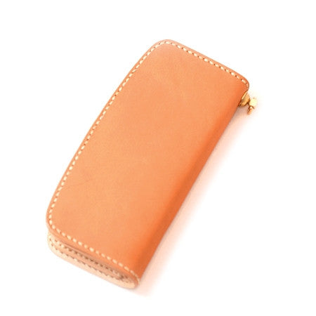 Voyej Admiral Americana Long Wallet: London Tan