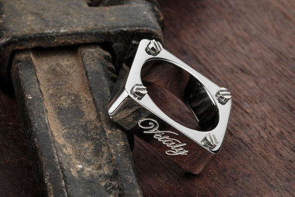 Vitaly Amici Ring - Stainless Steel