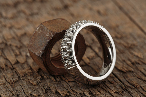 Vitaly Anti-Stone Ring - Stainless Steel