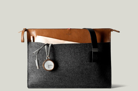 Hard Graft Personal Pouch Large: Heritage