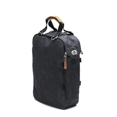 Qwstion Office Bag: Washed Black