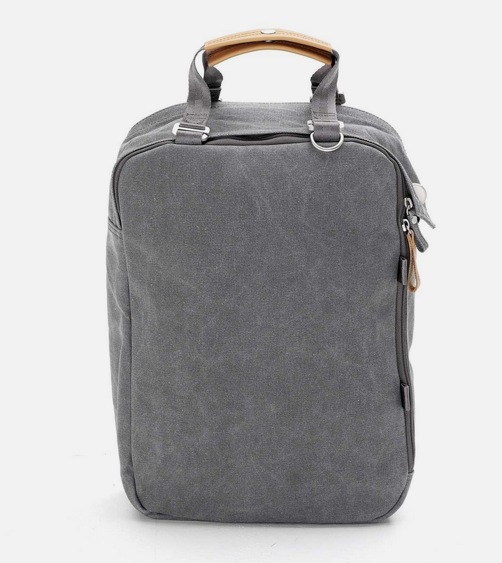 Qwstion Daypack: Washed Grey
