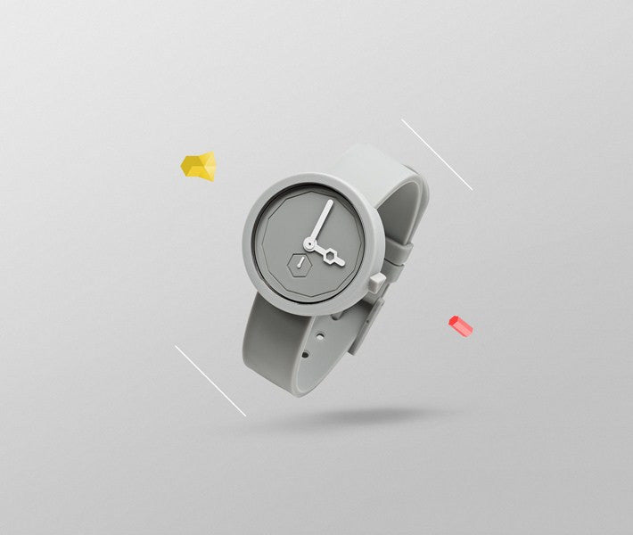 AARK Classic Grey Lead Watch