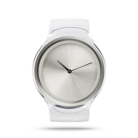 ZIIIRO Orbit Watch: Snow - Grey