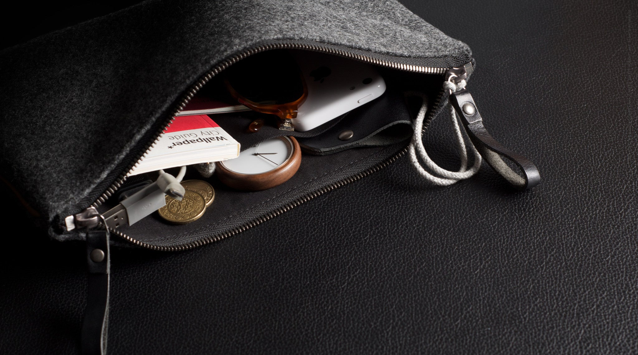 Hard Graft Personal Pouch Small: Heritage