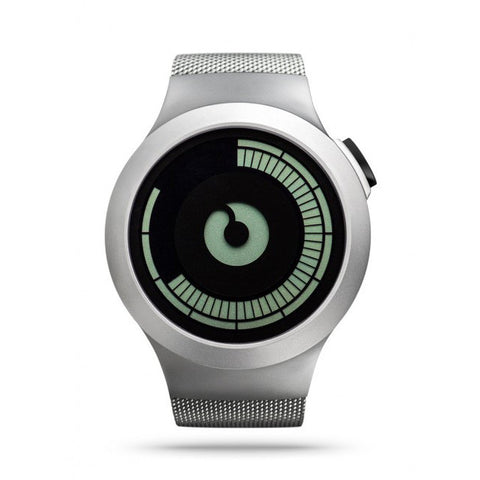 ZIIIRO Titan Watch: Chrome