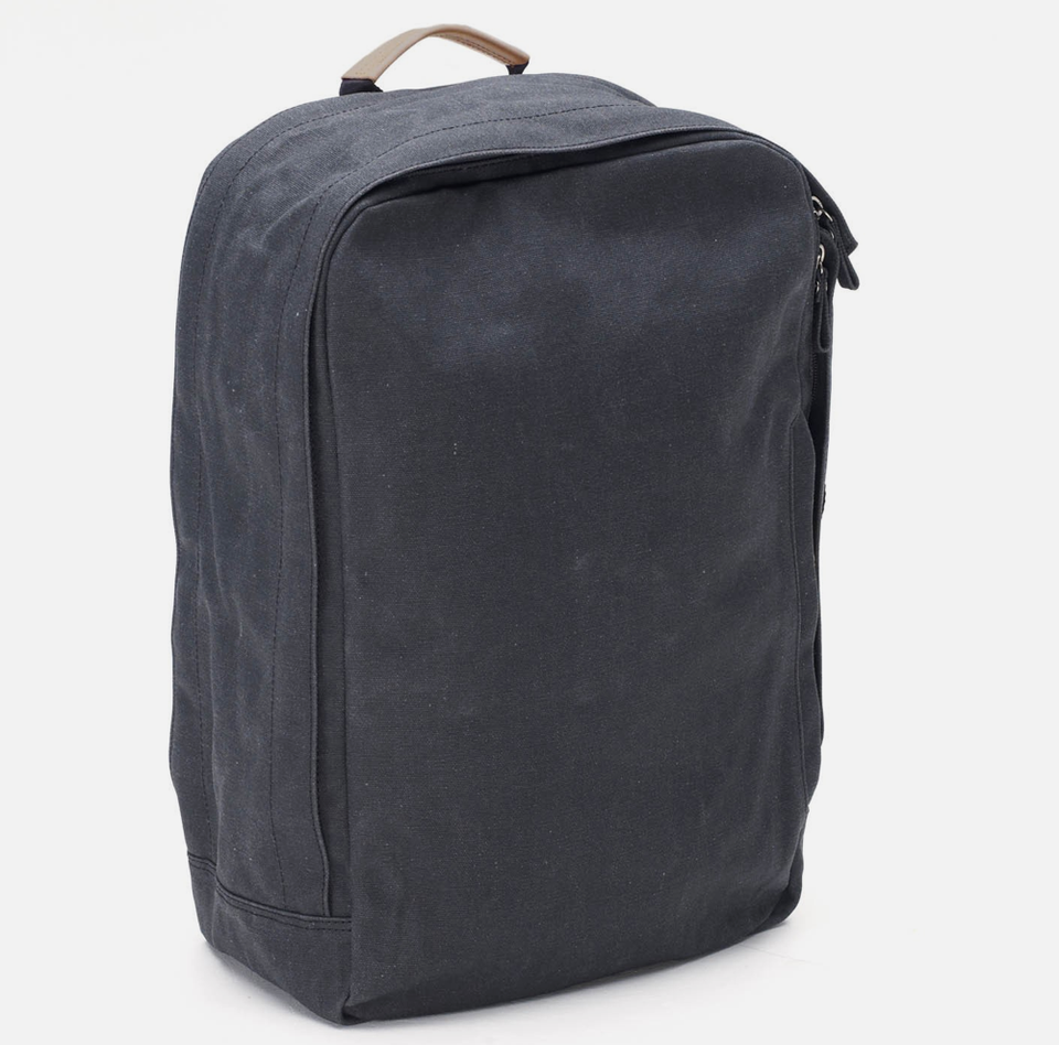 Qwstion Backpack: Washed Black