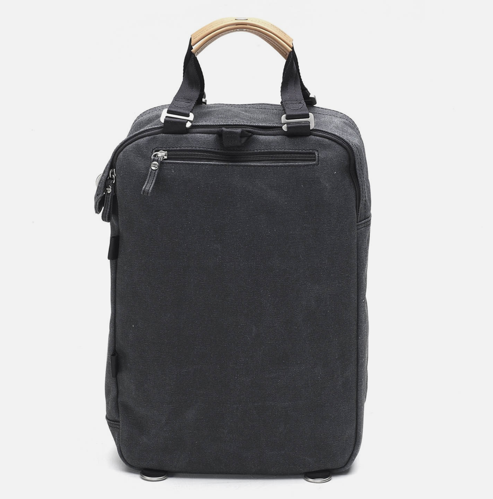 Qwstion Daypack: Washed Black