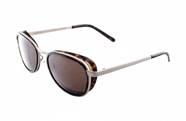 Conservatoire Contempo 403 Sunglasses: Tortoise/Light Gold