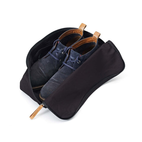 Qwstion Shoe Bag: Washed Black